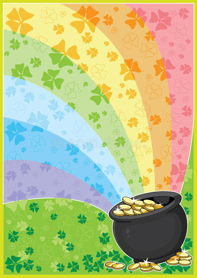 Download Patricks card stock vector. Illustration of saint, card - 18101240