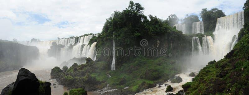 Património mundial do unesco das cachoeiras de Iguazu fotos de stock royalty free