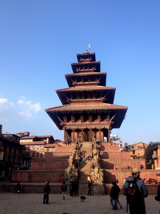 Patrimônio mundial em Kathamandu fotos de stock