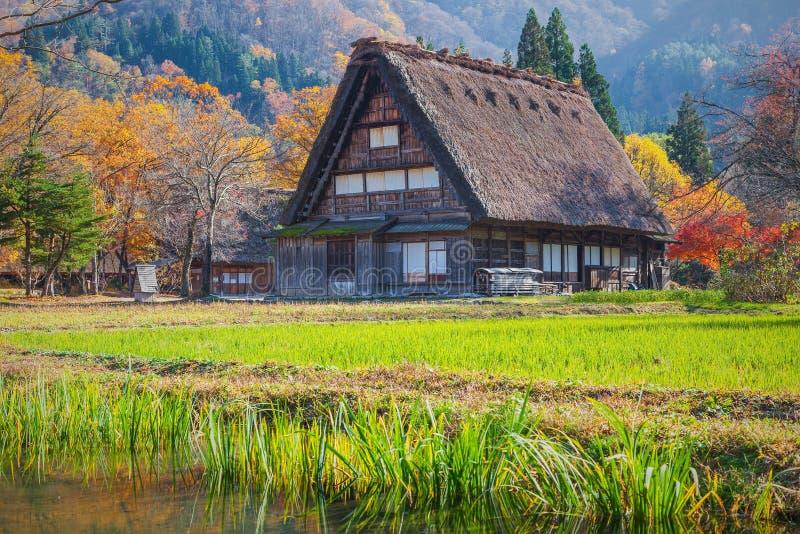 Patrimoine mondial, Shirakawago, Japon photo stock