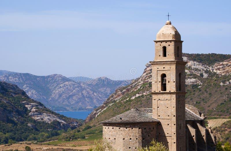 Patrimonio,欧特Corse,可西嘉岛,上部可西嘉岛,法国,欧洲,海岛 免版税库存图片