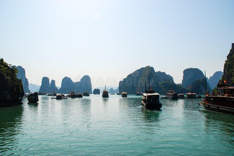 Patrimonio mondiale di lunghezza dell'Unesco della baia dell'ha immagine stock