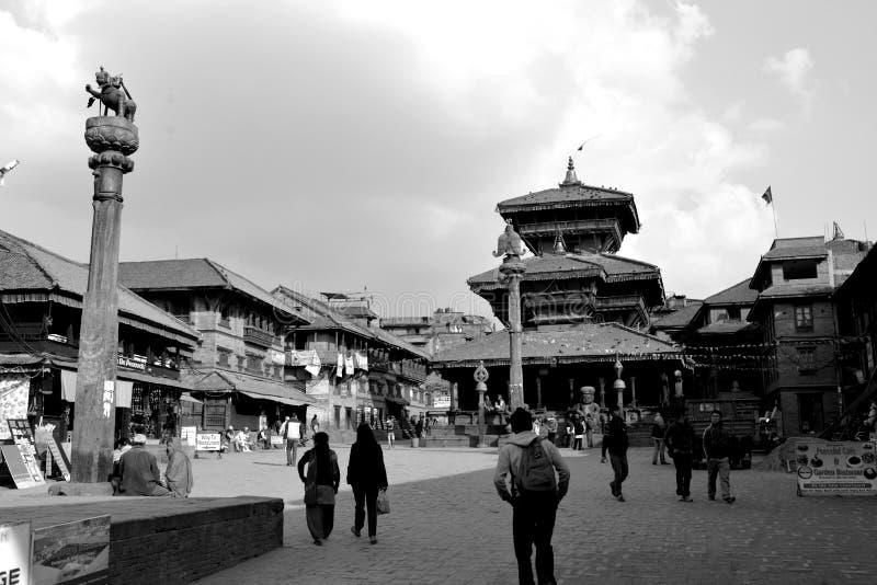 Patrimonio mundial en Kathamandu imagenes de archivo