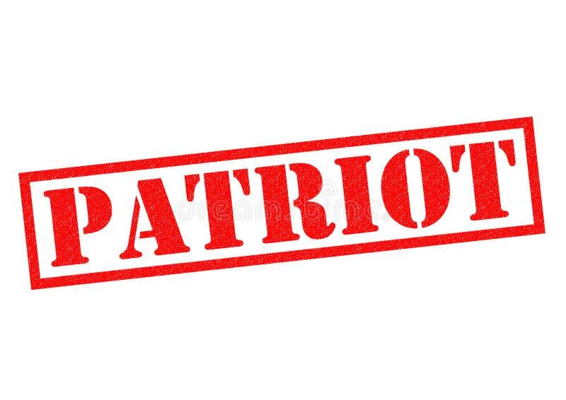patriot vektor illustrationer