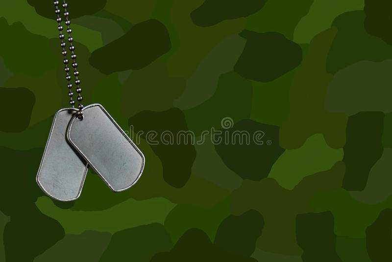 Patriot Tags Royalty Free Stock Image