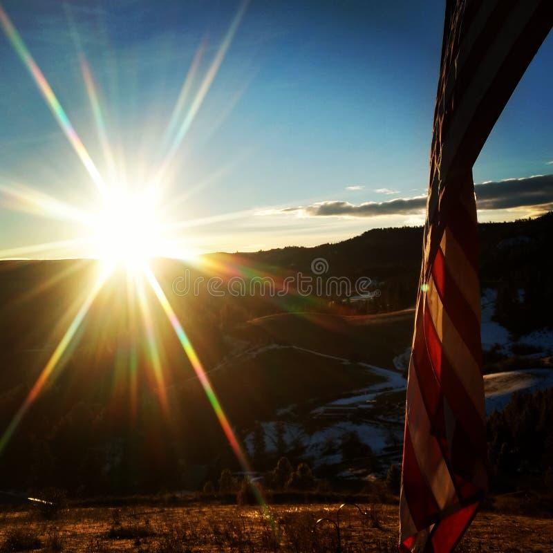 Patriota americano fotografia stock libera da diritti
