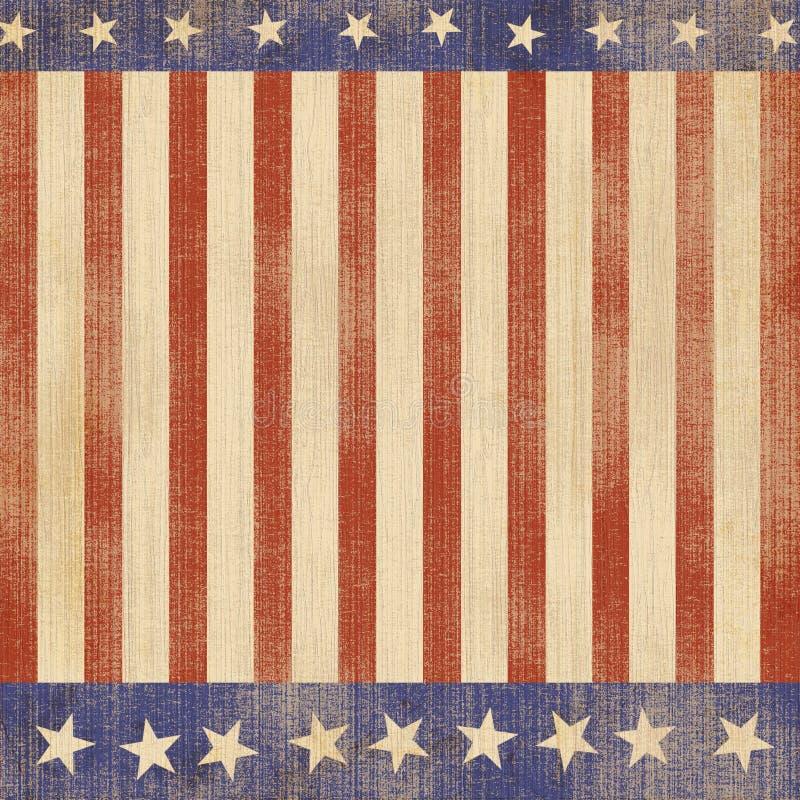 Patriote américain illustration de vecteur