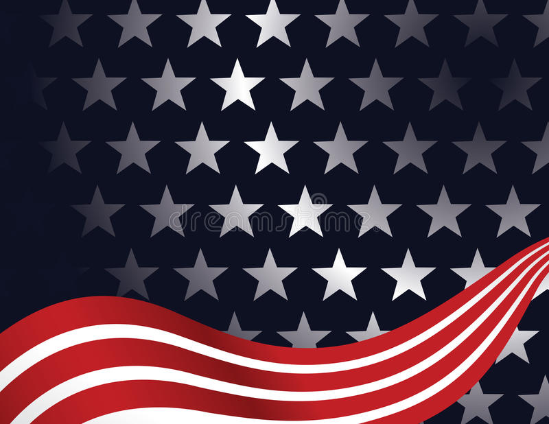 Patriotic Background vector illustration
