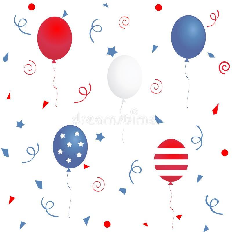 Download Patriotic background stock illustration. Illustration of stars - 6943581