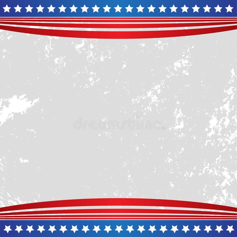 Patriotic background american usa flag stock illustration