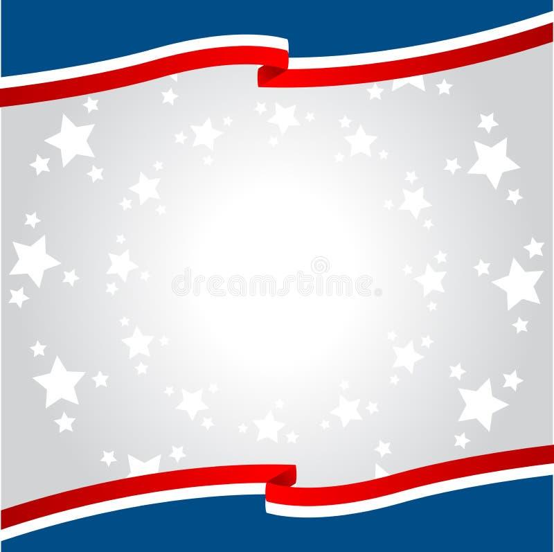 Patriotic background royalty free illustration