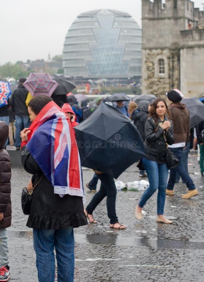 Patriotic Blanket Editorial Photo