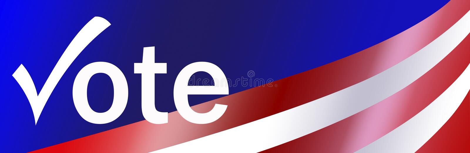 Patriotic Bumper Sticker Background stock images