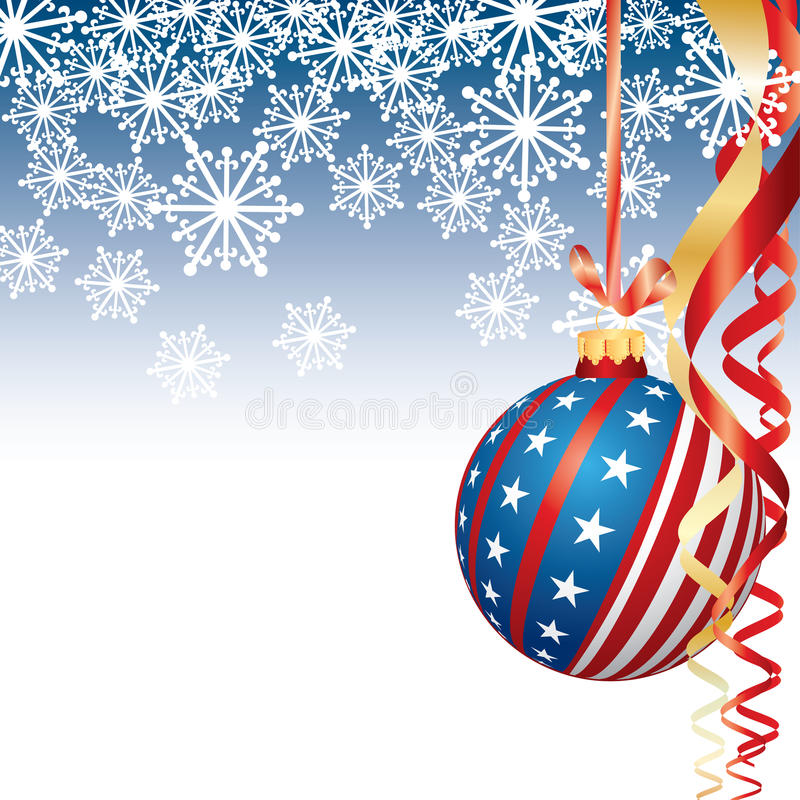 Download Patriotic Christmas stock vector. Image of concepts, christmas - 12010322