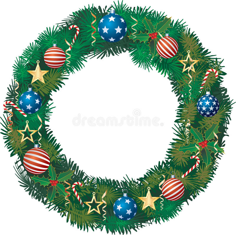 Download Patriotic garland stock vector. Image of merry, closeup - 17471271
