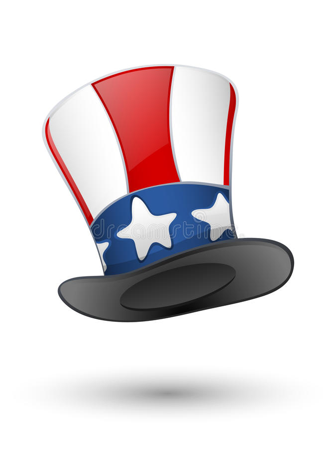 Free Patriotic Hat Royalty Free Stock Photography - 19893927