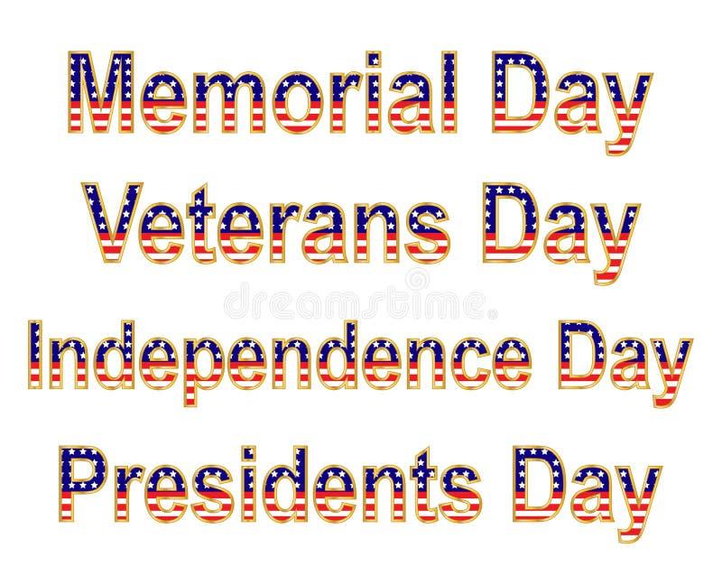 Patriotic Holidays Stock Photos