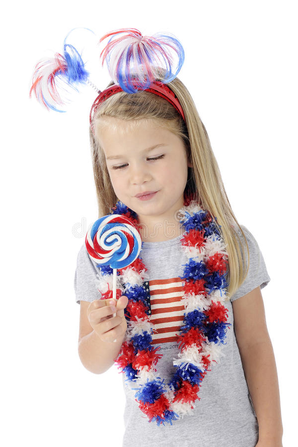 Download Patriotic Lollipop Royalty Free Stock Photo - Image: 25377425