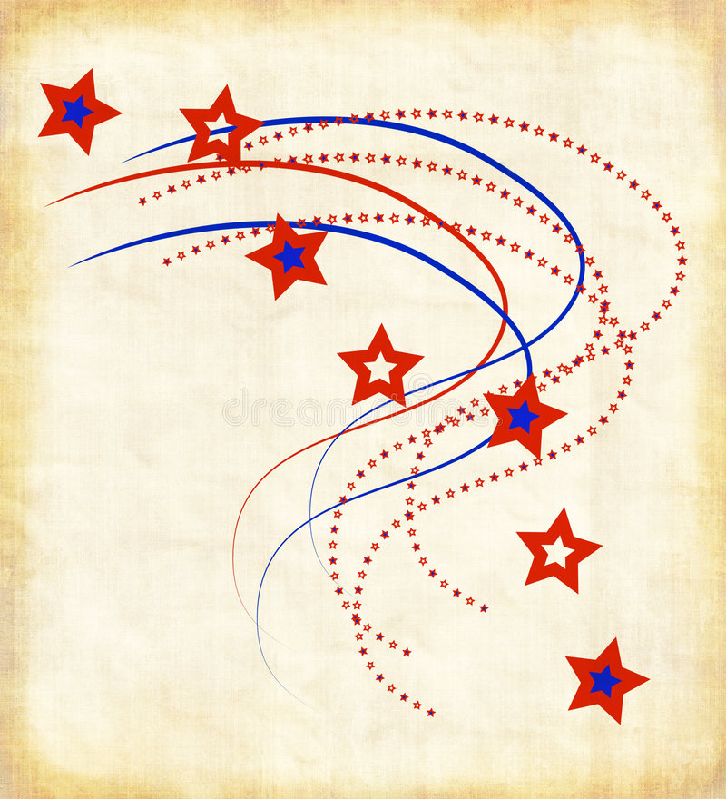 Download Patriotic Paper stock illustration. Image of brown, fabric - 5682265