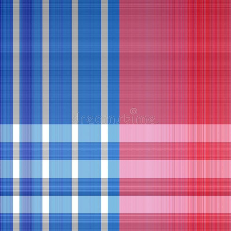 Download Patriotic Plaid Textile Print Pattern Stock Illustration - Illustration of fabric, american: 109467045
