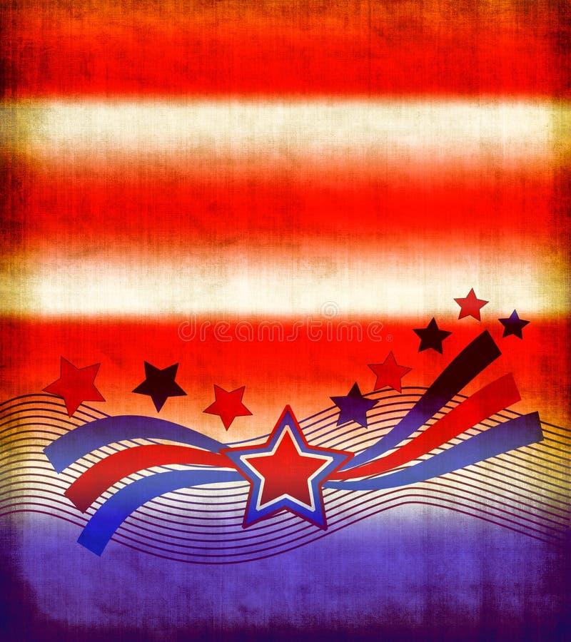 patriotique de papier illustration stock