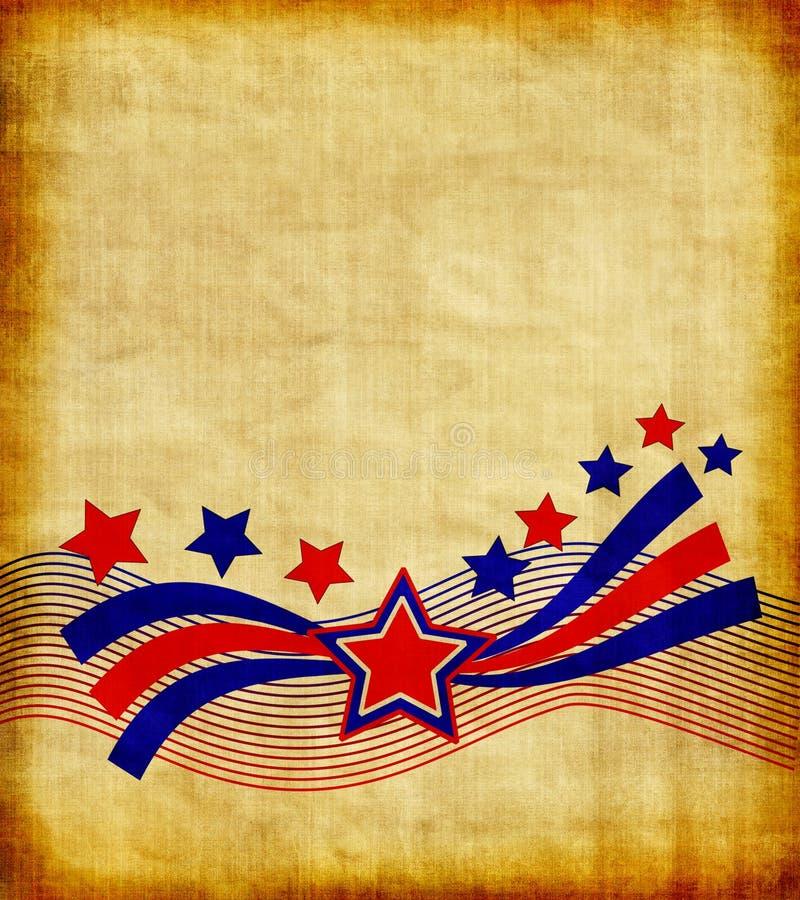 patriotique de papier illustration de vecteur