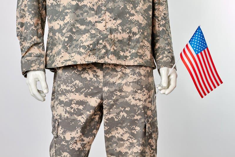 Patriotisch wir Soldatkonzept lizenzfreie stockfotografie