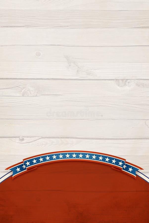 Patriotischer Hintergrund. stockbilder