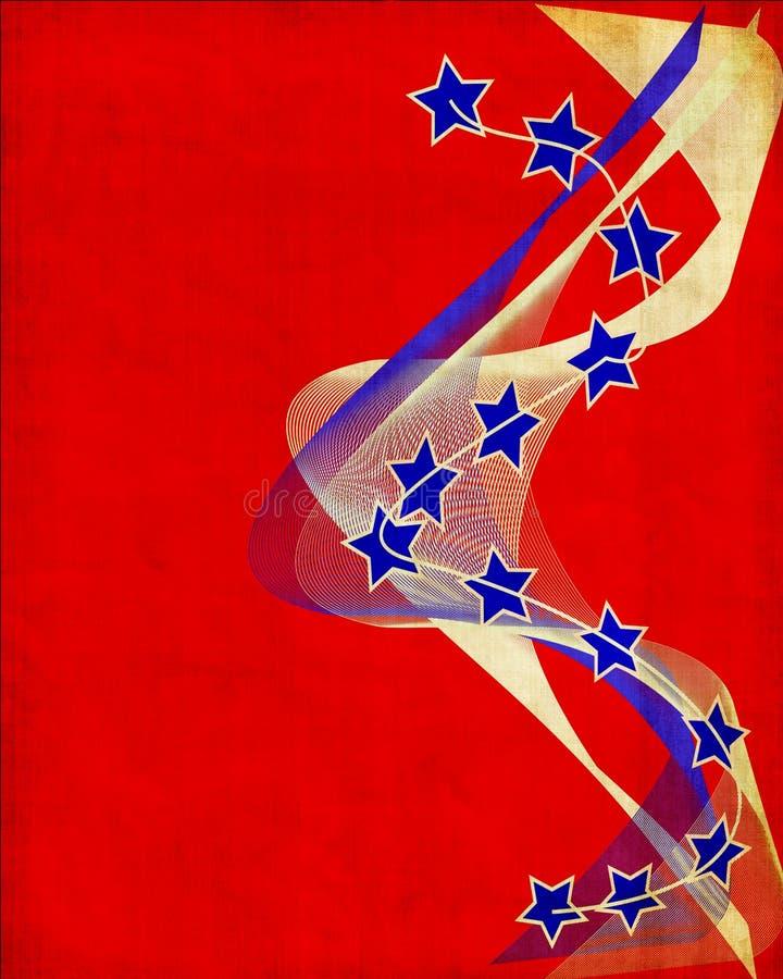 patriotisk bakgrund vektor illustrationer