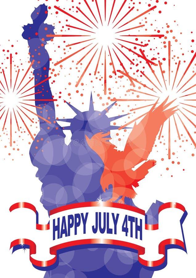patriotisk mix 2 vektor illustrationer