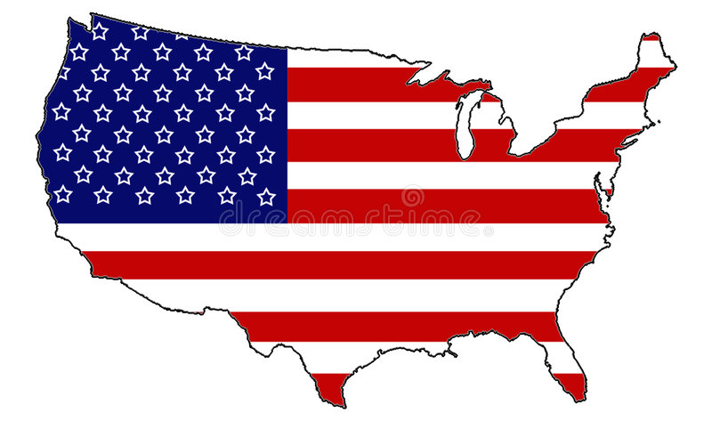 Patriotism stock illustration