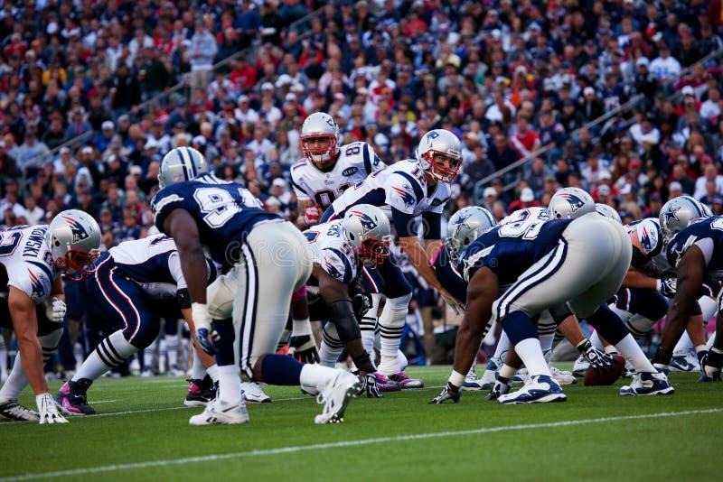 Download Patriots Quarterback Hike Editorial Stock Photo - Image: 26130523