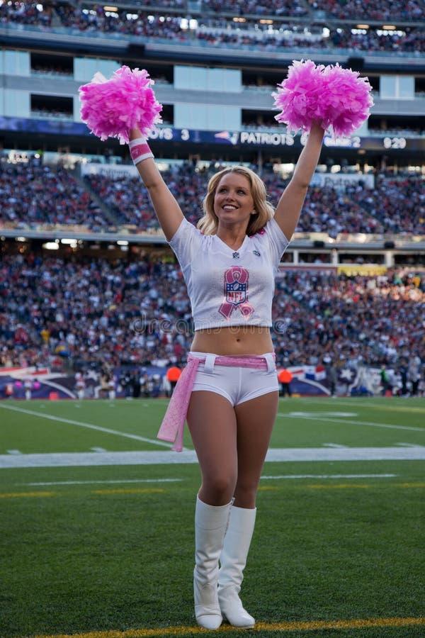 Patriotten cheerleader   royalty-vrije stock foto