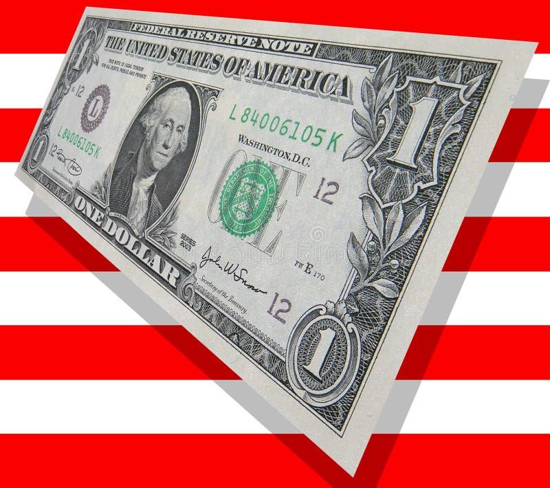 Patriottisch Geld royalty-vrije stock afbeeldingen