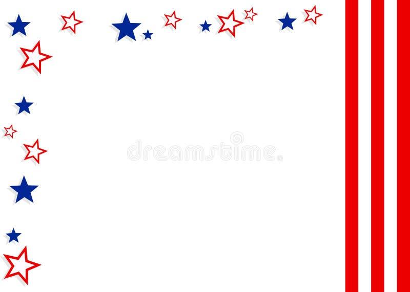 Download Patriottische Achtergrond stock illustratie. Afbeelding bestaande uit patriottisme - 39265