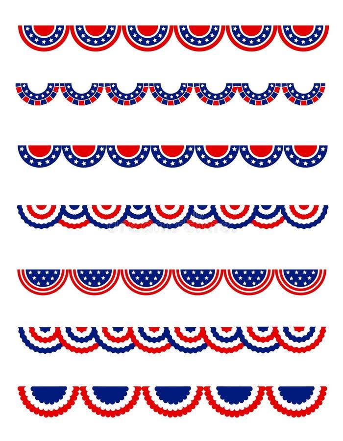 patriotyczny royalty ilustracja