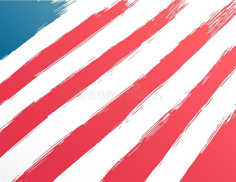 Patriotyczny czwarty Lipa wektor ilustracji
