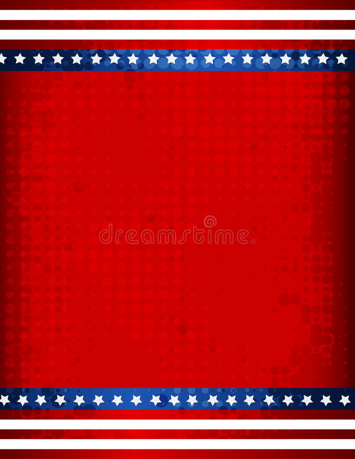 patriotyczny graniczny ilustracji