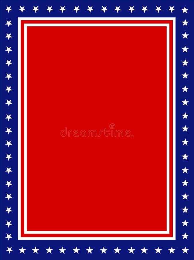 patriotyczny rabatowy USA ilustracji