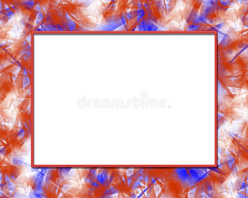 patriotyczny ramowy ilustracja wektor