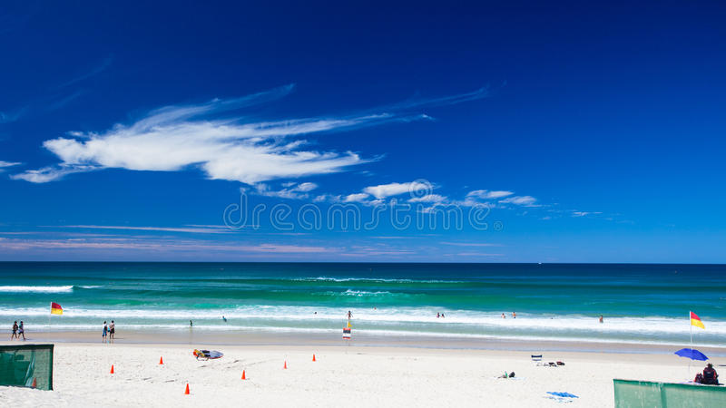 Download Patrolled tropical beach stock photo. Image of ocean - 24906878