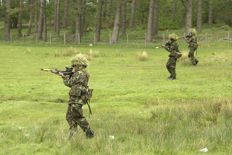 Download Patrolling stock photo. Image of infantry, challenge, camp - 1051694