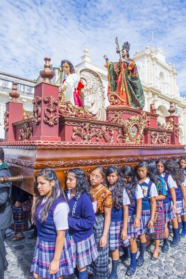 Patron Antigua korowód obrazy stock