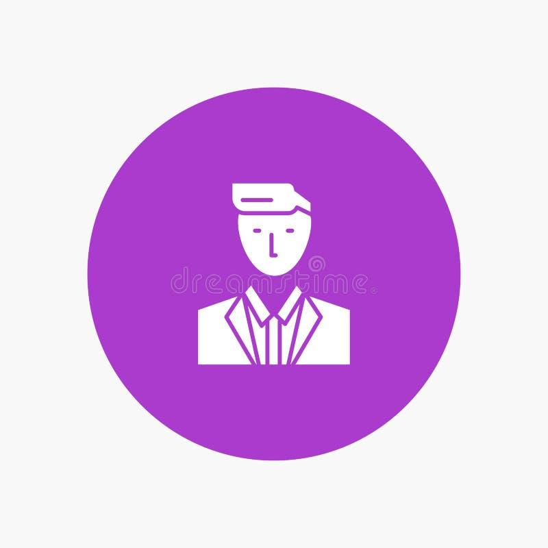 Patron, CEO, chef, chef, M. illustration de vecteur