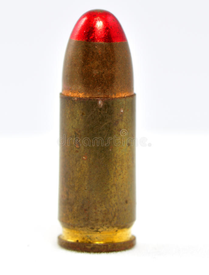 Free Patron Of The Calibre 9mm Stock Photography - 13190592