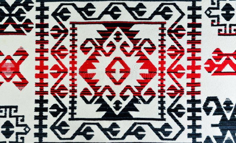Patronen in tapijten - motief en traditie stock foto's