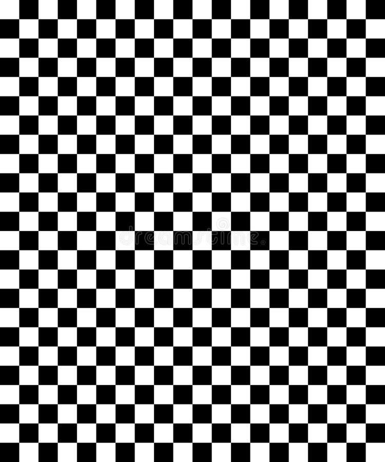 Patroon 01 van het schaakbord stock illustratie