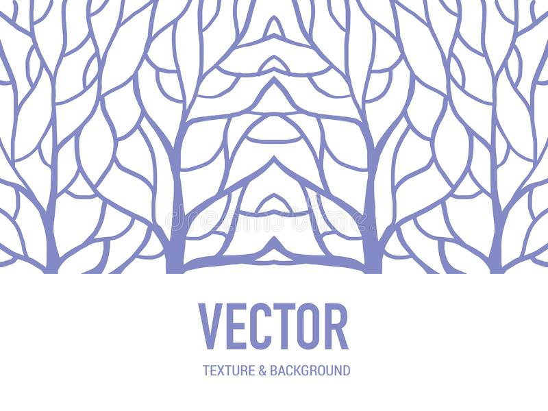 Patroon achtergrondwortel voor het kunstwerk vector illustratie