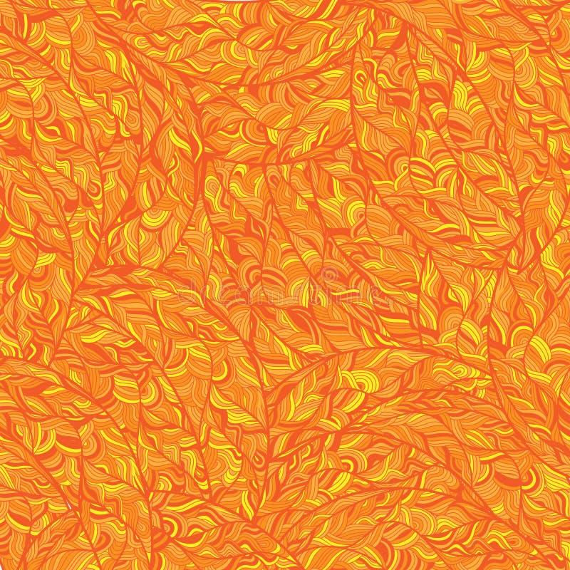 Patroon in gouden stijl stock afbeelding