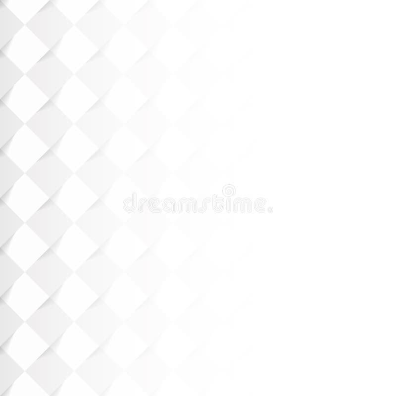 Patroon met grijze vierkante tegels vector illustratie